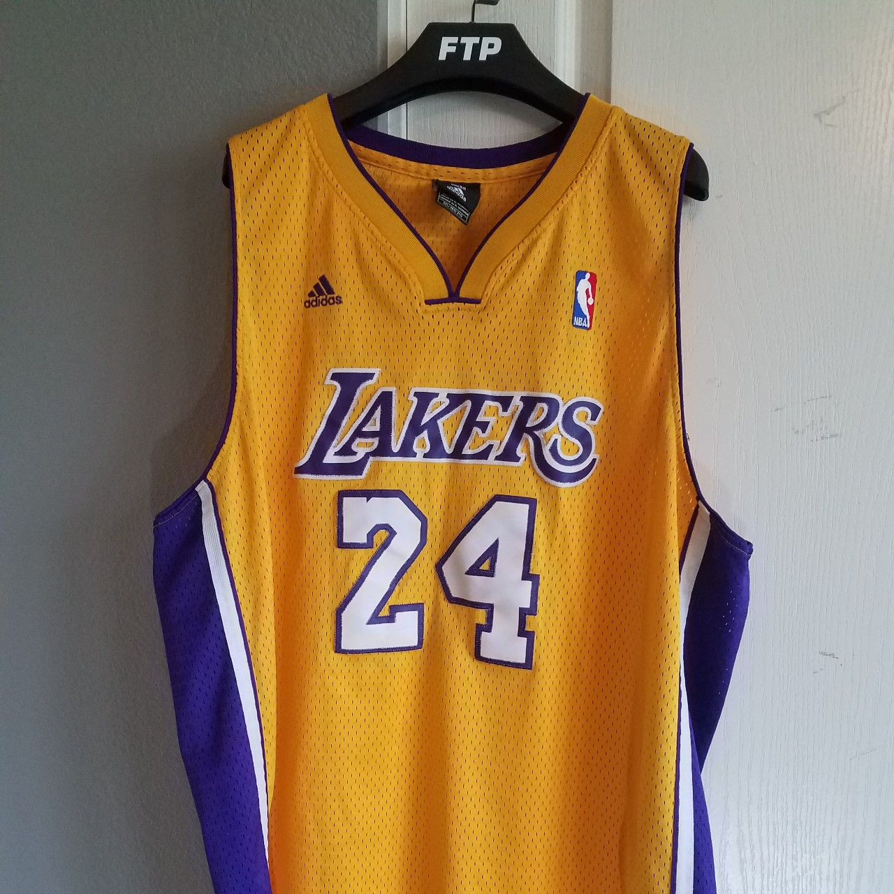 check out ca426 a207d Los Angeles Lakers authentic Kobe Bryant jersey.... - Depop