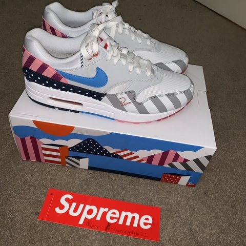 a1f7ceabf4ac18 Nike x Parra Air Max 1 2018 Brand New Deadstock UK9 Comes - Depop