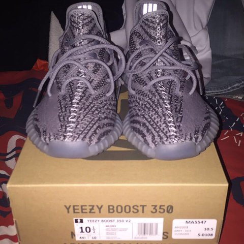 2571fa6d32f8d Adidas Yeezy Boost 350 V2 Beluga 2.0 size 10.5. There were 2 - Depop