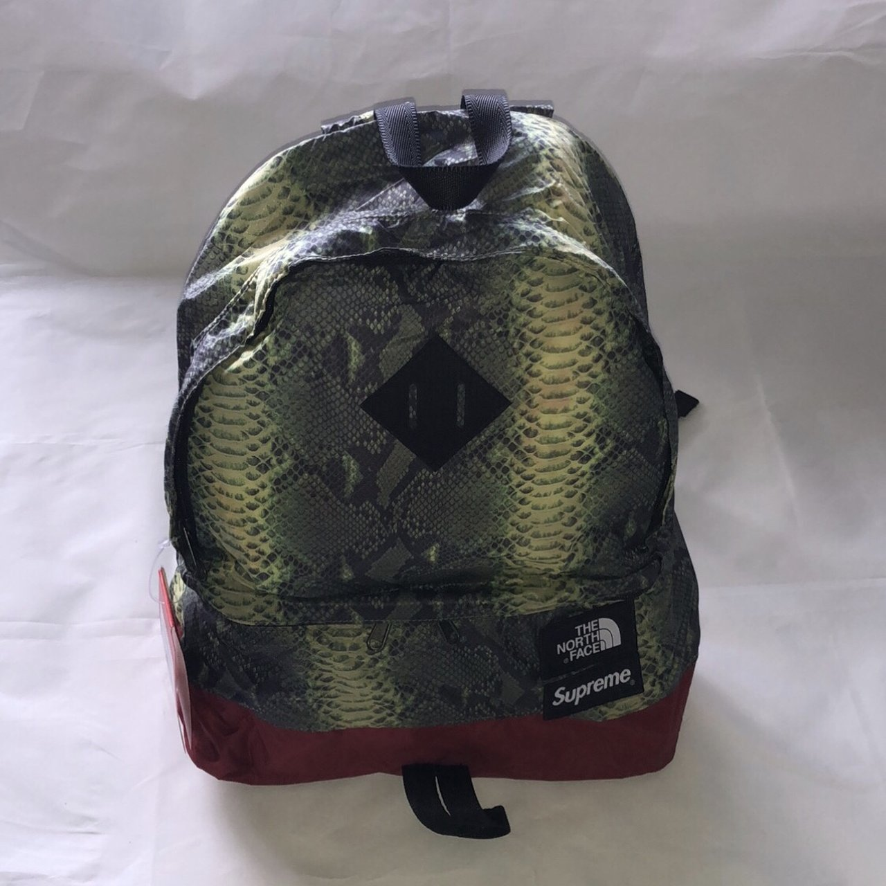 315fc6393a3e ... North Face Supreme Backpack Snakeskin biggest discount a2bc3 93d8e ...