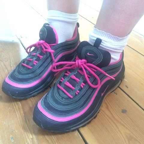 574bc4a8aa Air max 97 95 TN nike trainers girls 97 size 6 but would fit - Depop