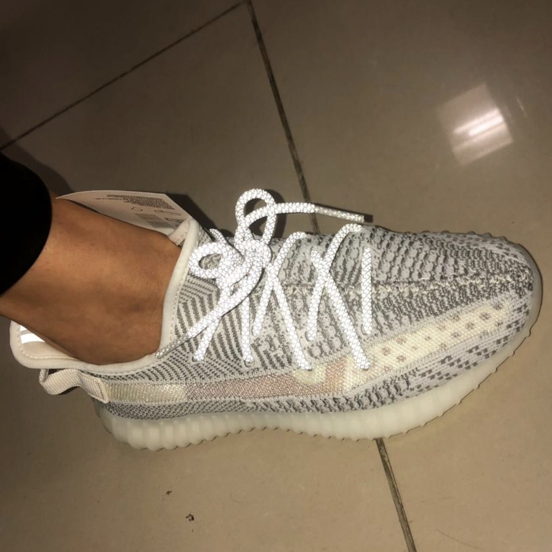 Women Adidas shoes Yeezy Boost 350 V2 Static Reflective
