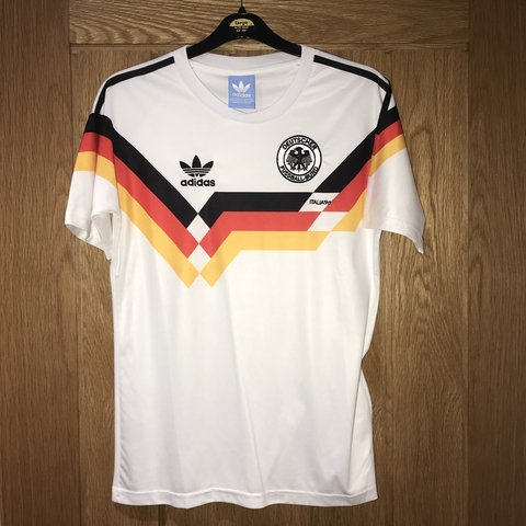 762c78fcd2c Germany classic jersey. Barely worn size small - Depop