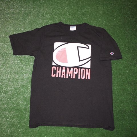 d5b8089a @vintage_threads716. 12 days ago. Buffalo, United States. Vintage champion  spell out big logo shirt ...