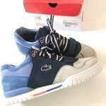 4b94087c5 brand new  Men s Black Leather Lacoste Trainers UK lining - Depop