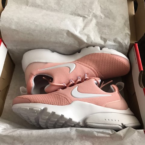 meet 0ecf6 05aa9 Selling these Nike Air Presto Fly Women's coral &... - Depop