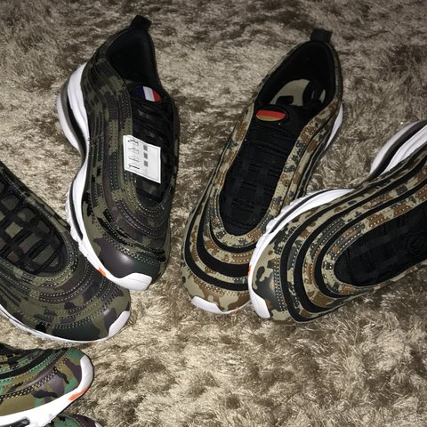 sports shoes ef047 35769  sheamcguigan. last year. Coventry, United Kingdom. RESERVED •Nike Air Max  97 Country Camo pack 🇩🇪 •Germany Size 6