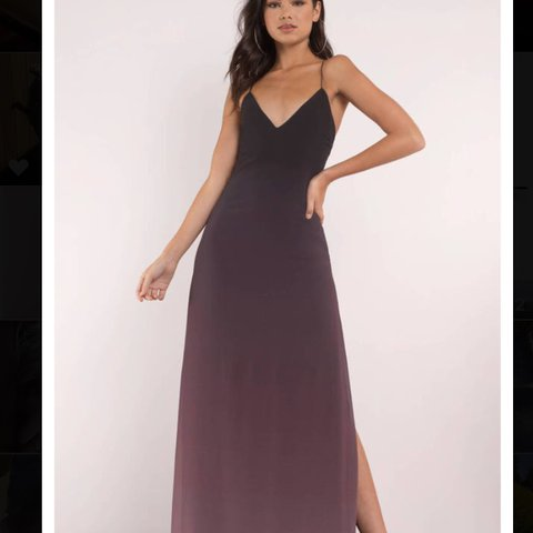 89ac19f555126 TOBI Ombré prom/ formal dress. I bought 2 dresses and the - Depop