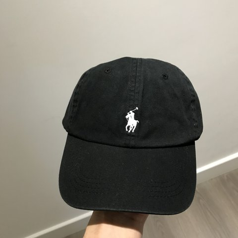 Brand New Black Polo Ralph Lauren Dad Hat 100% authentic buy - Depop 8f20a088e79f