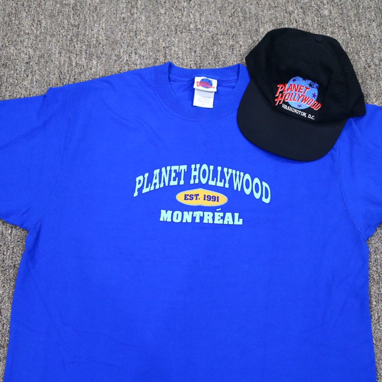 74d644c445896 Planet Hollywood T-Shirt Size LARGE