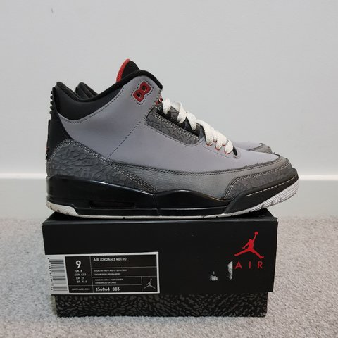651ce5ec39514b Nike air Jordan stealth 3 size uk 8 good condition with og - Depop
