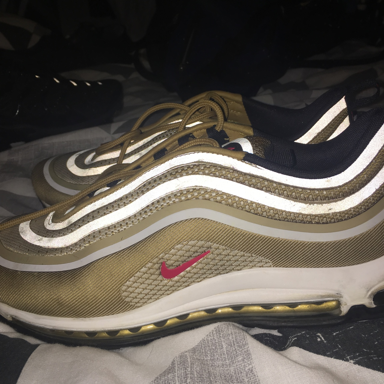 Nike Air Max 97 Gold Og Edition Great Condition Depop
