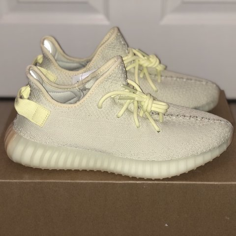186dcfc6e RETAIL STEAL! Adidas Yeezy Boost 350 V2  Butter  Size UK 9 - - Depop