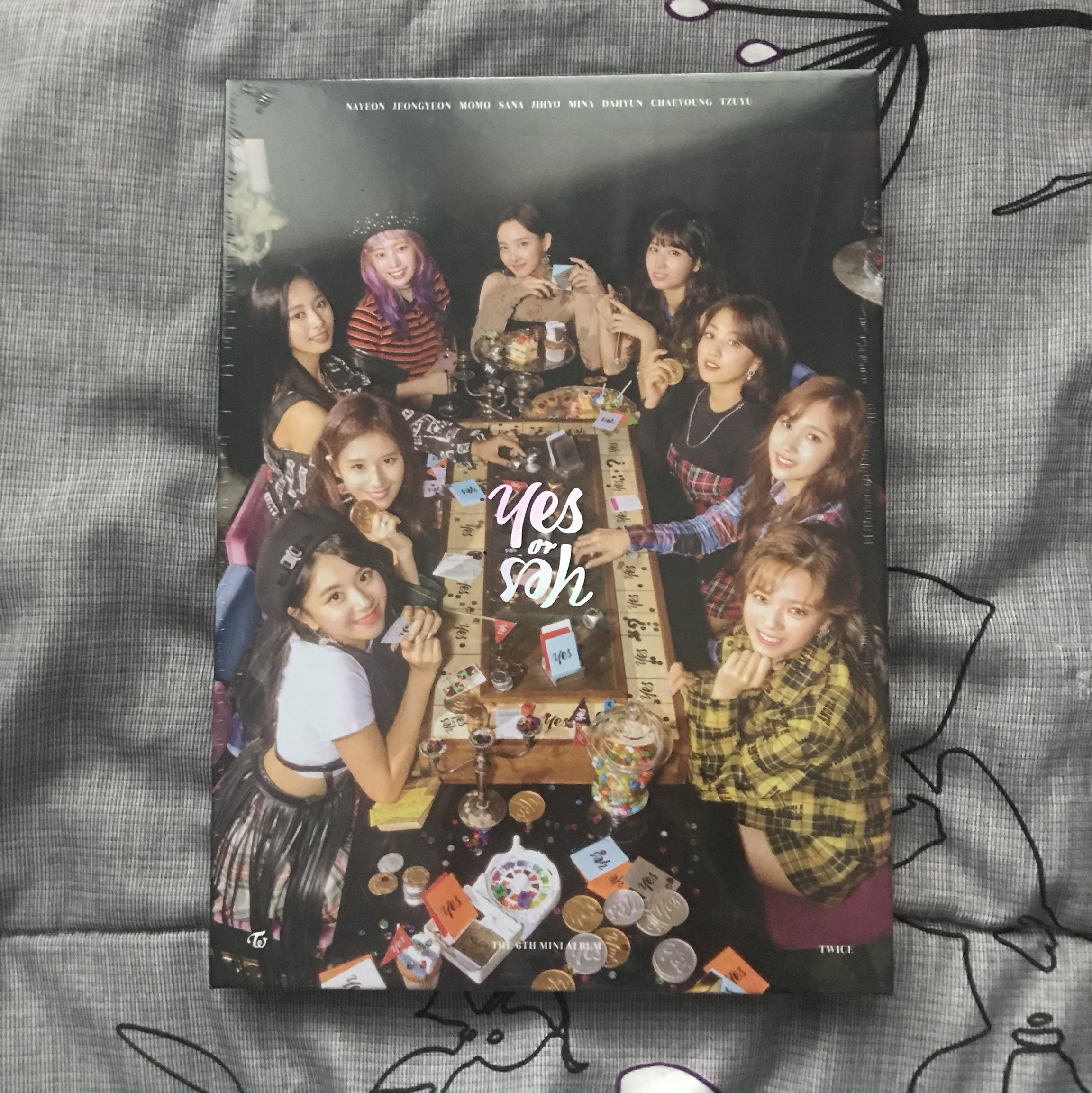 TWICE YES OR YES ALBUM -US ONLY!! -album is still    - Depop