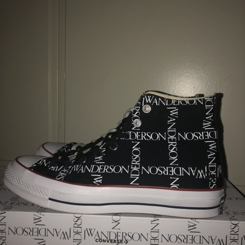 Jw Anderson x converse shoes. Size 9.5 I love them they on - Depop f6b2f529f