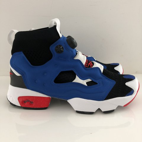 big sale 2e159 03c44 @millenniumcartel. last year. Amsterdam, Netherlands. Reebok Instapump Fury  OG in Black/Team Dark Royal/Red