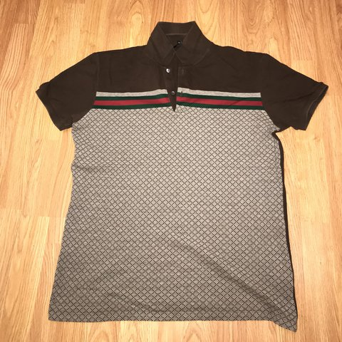 a072cbf916f1 Gucci Polo Shirt •100% Authentic •Size XL But fits Small - Depop