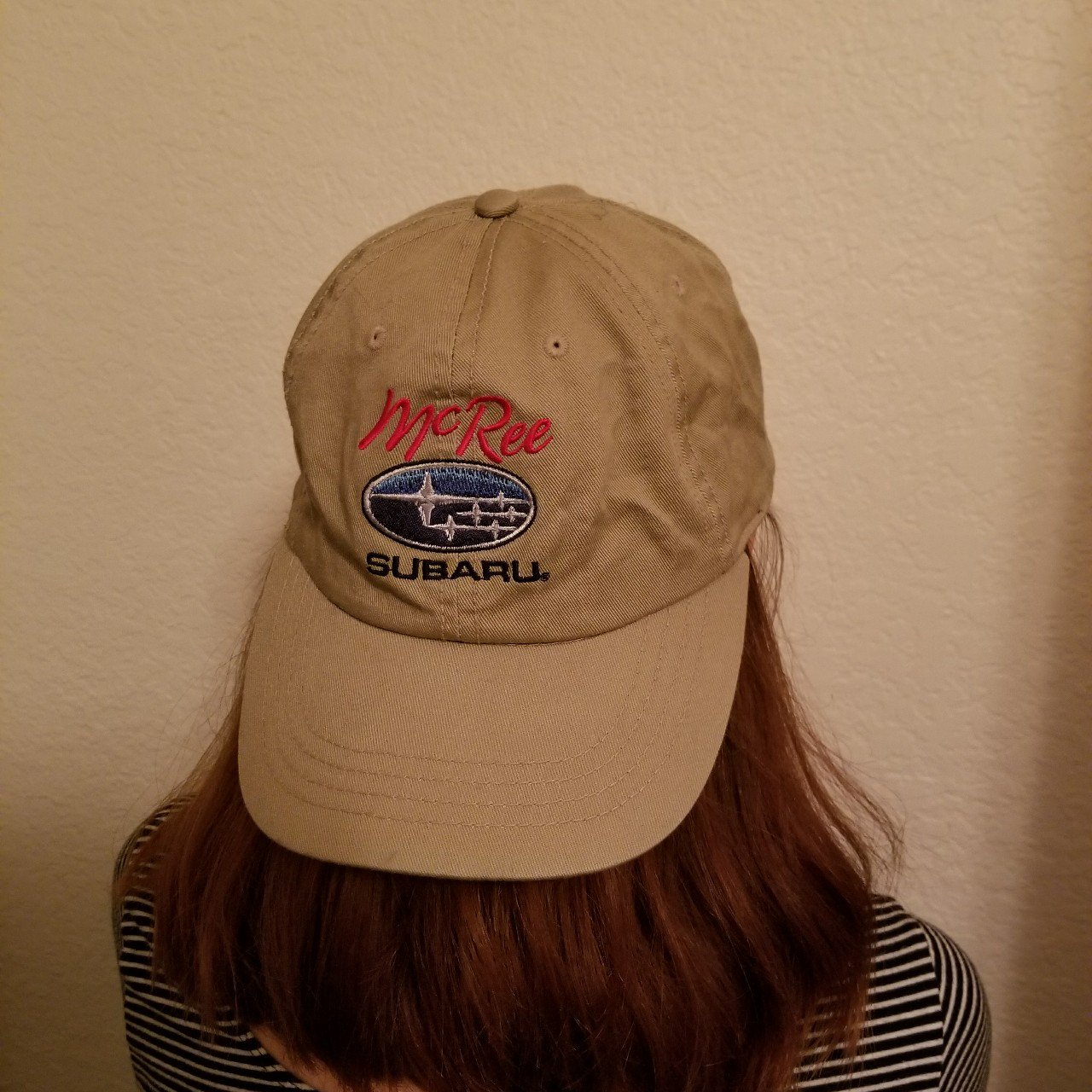 Subaru dad hat No flaws or stains comes from a smoke free - Depop 3047305c939