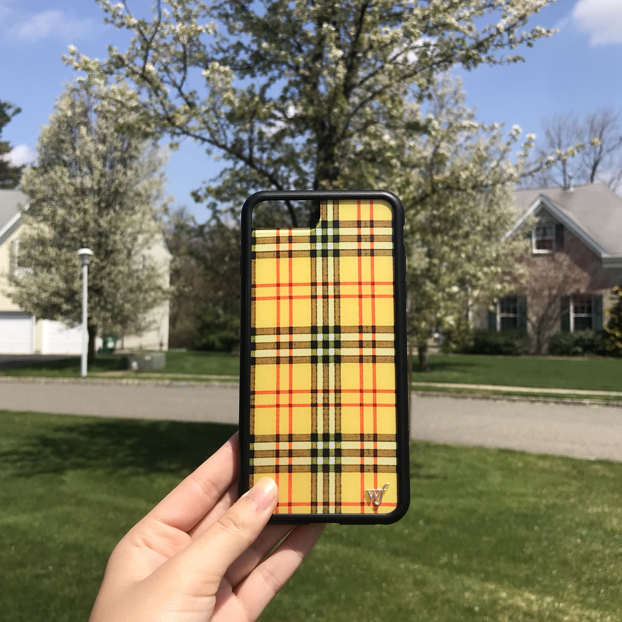 iphone 8 plus plaid case
