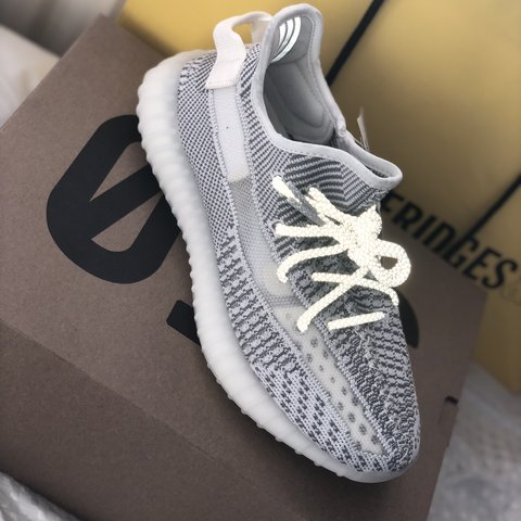 e9448ded047 Brand new Adidas YEEZY BOOST 350 V2 reflective static. Size - Depop