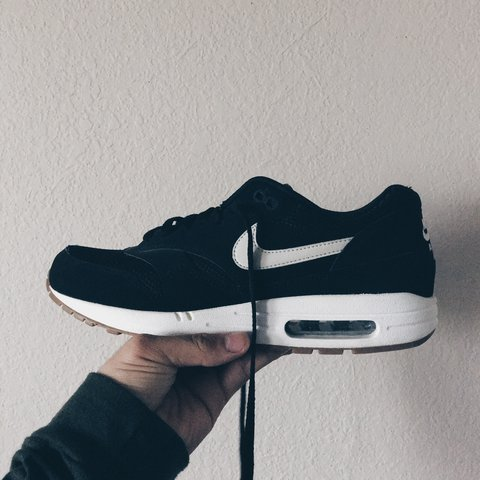 big sale ad612 def71  rainxsupreme. 3 months ago. Lowell, United States. Nike Air Max 1  essential Black White Gum sole