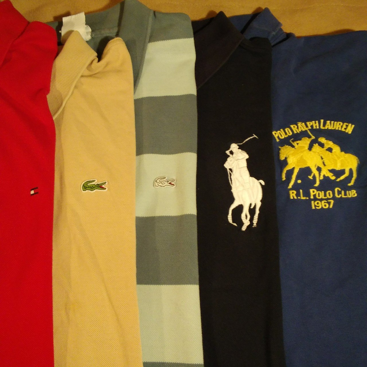 fc2ef28f Designer Polo Collection 2 Lacoste 2 Big Logo Ralph 1 Is A Depop