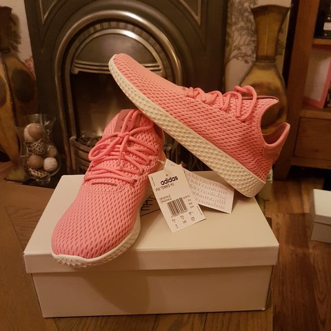 bda3bc3df08b7 Brand new with tags in box Adidas pharrell Williams tennis - Depop