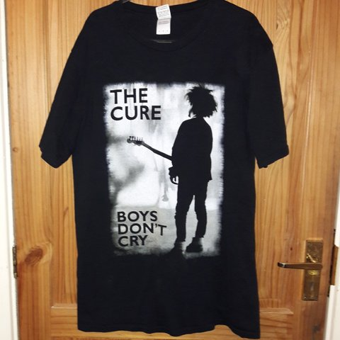 2016 The Size Tour Shirt Black 0wkp8no L Depop T Cure 76gyfYbv