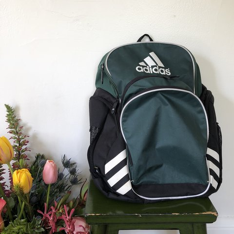 Adidas Forrest green soccer backpack. Love this backpack 4486623960582