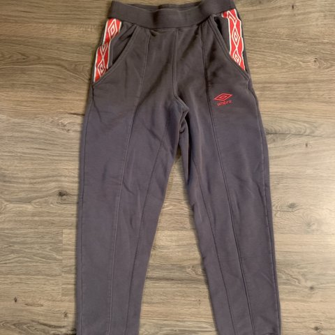 aa28976bb2 Free Shipping!! Vintage Umbro sweat pants. Iconic soccer and - Depop