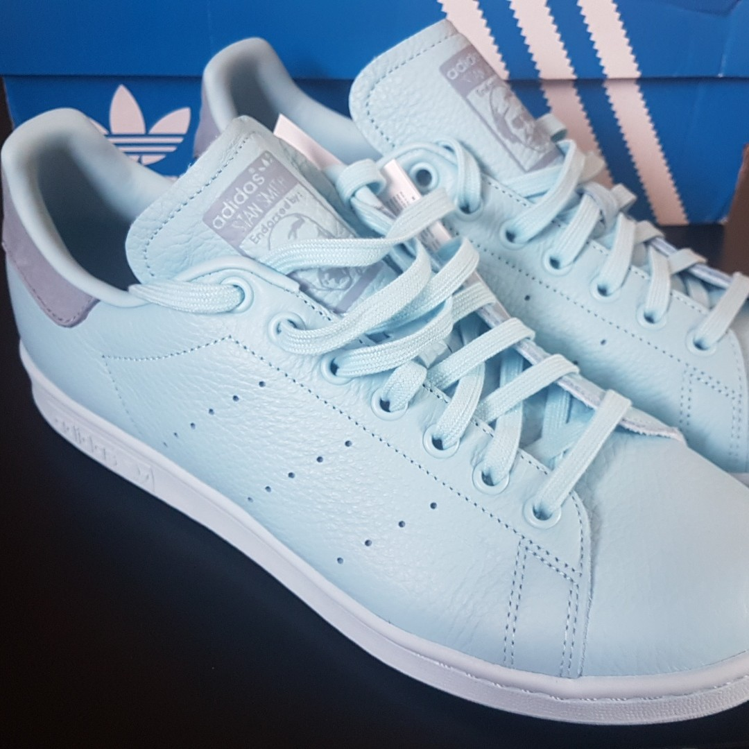 save off 4324c 4a395 Adidas originals stan smith ice blue size 8 #adidas... - Depop