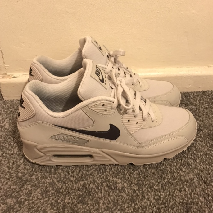 best website 6cafc 27cc3 Nike Air Max 90 essential 'Light bone' UK 9... - Depop