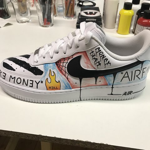 release date 02c55 eed37  monkey13custom. last year. Mantova, Italia. Nike air force one  customizzata a mano