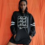"""c4be83d689 Poster Grl """"Zero Love"""" lace-up hoodie! want a sexy look for - Depop"""