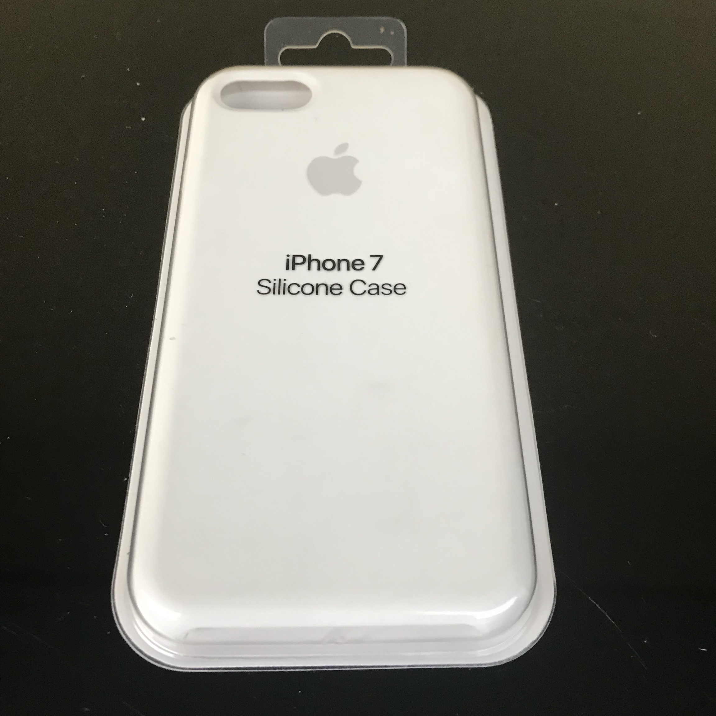 cover silicone bianca iphone 7