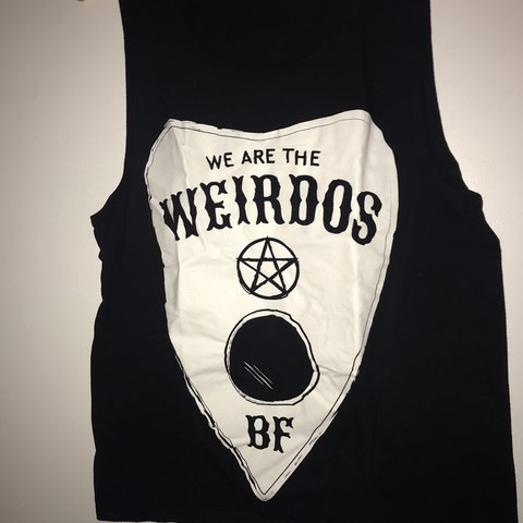 Jeffree Star We Are The Weirdos Muscle Tee Never Worn Depop