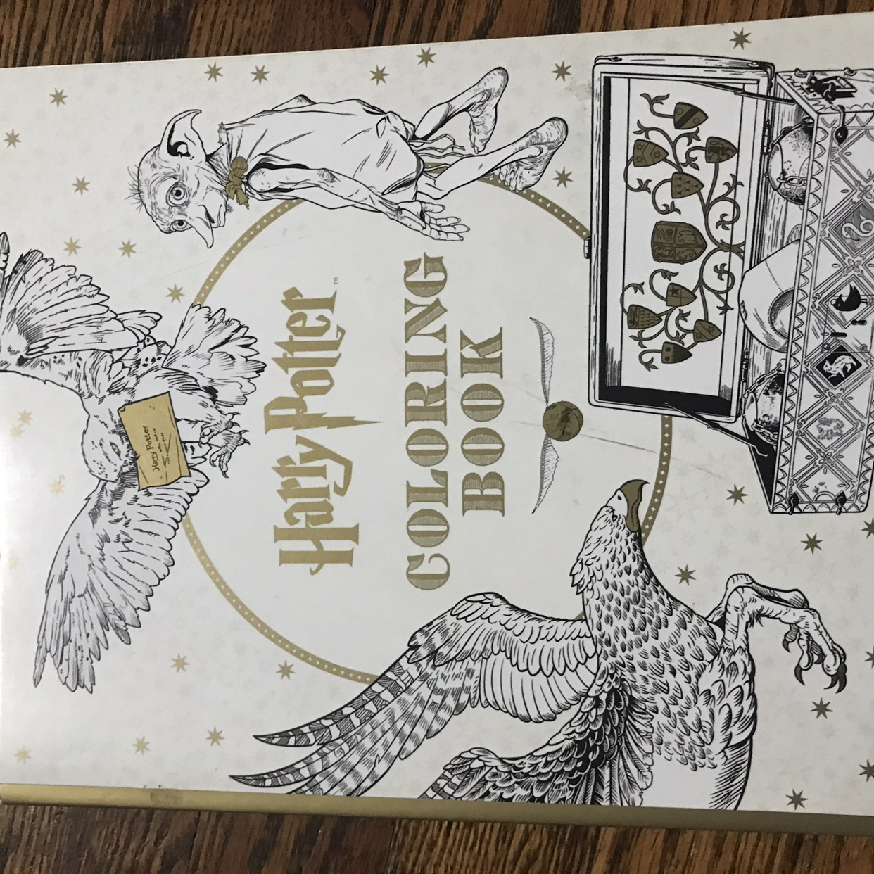 Harry Potter Coloring Book Pages Shown Are What S Depop