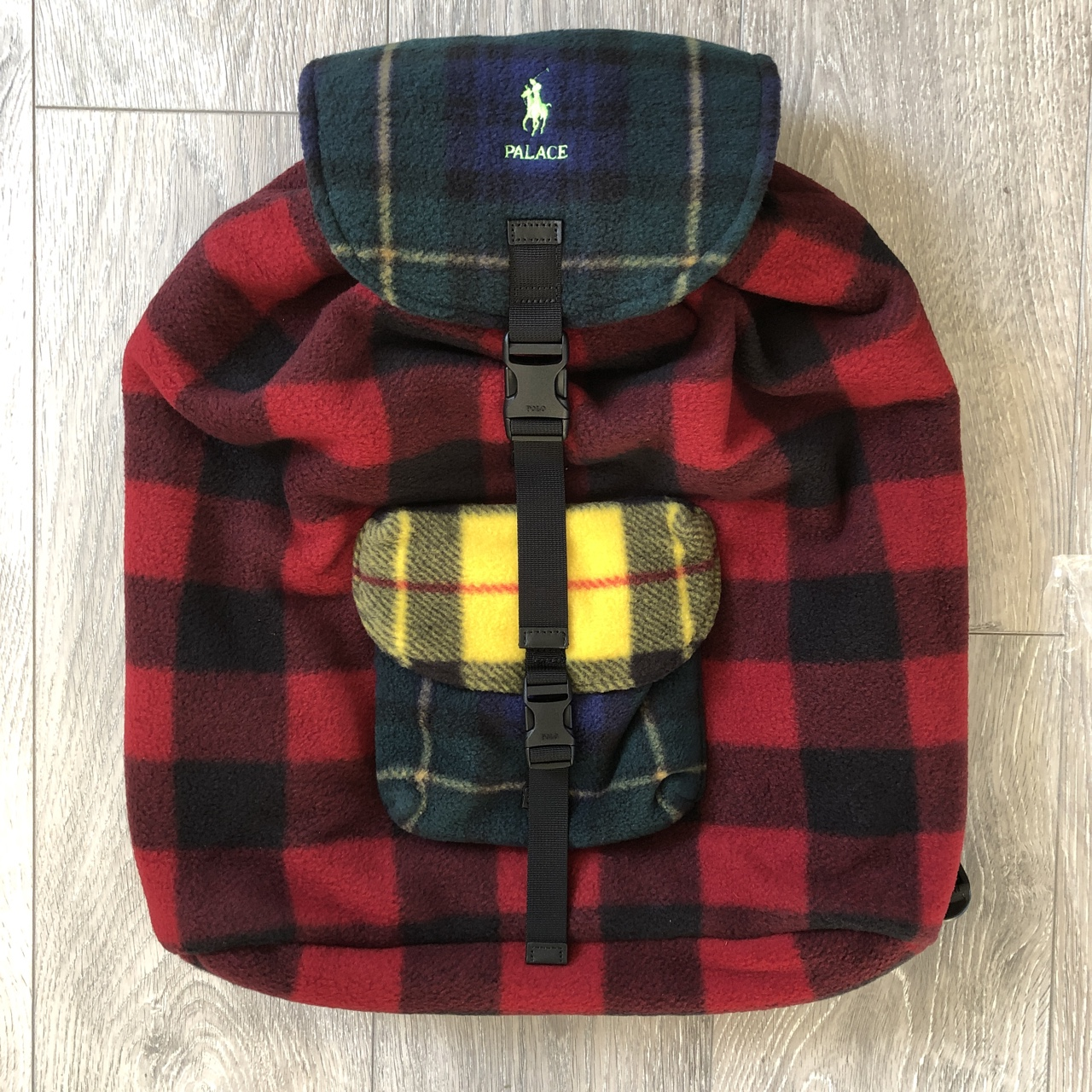 Glen X Backpack Plaid Fleece Palace Lauren Ralph Depop erxoQdCWB