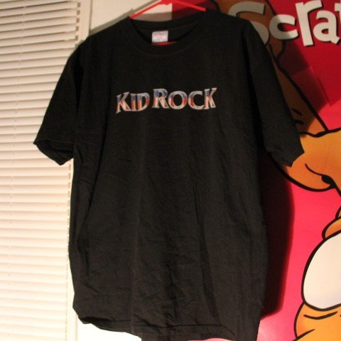 0e78fc009 @mycoolshitidk. 5 months ago. Southampton, Pennsylvania, US. VINTAGE Kid  Rock T-Shirt with a fat middle finger ...