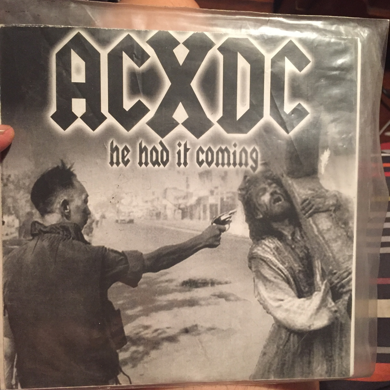 1st Pressing 7inch vinyl record    He had it coming    - Depop