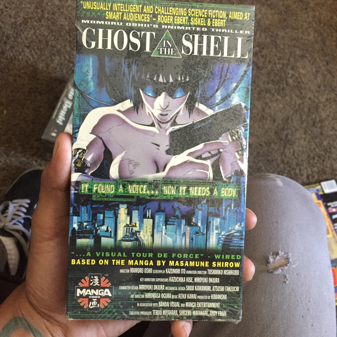 1995 Ghost in the shell anime manga VHS #akira    - Depop