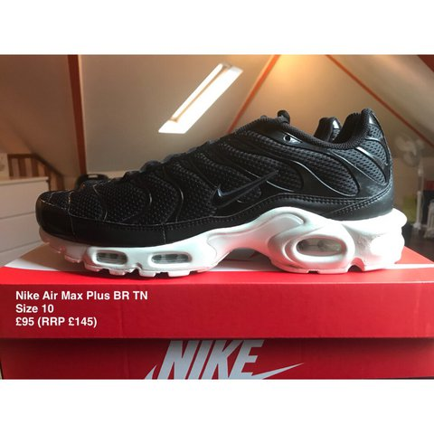 4f950e1228 ... authentic nike air max plus br tn brand new 898014 001 size 10 95 depop  a54bb
