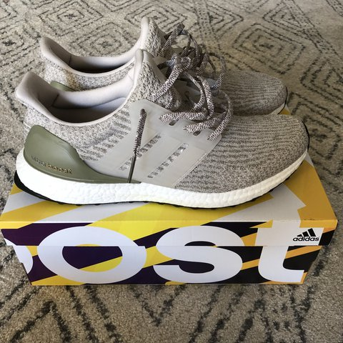 """558ac7ebc19f5 For sale is a pair of Adidas Ultra Boost 3.0 """"Olive Copper"""". - Depop"""