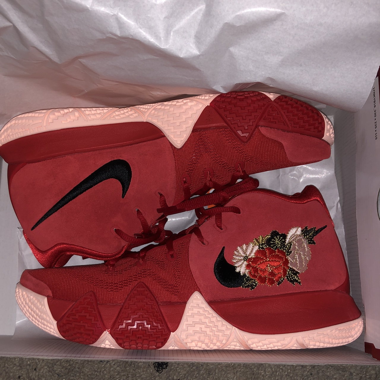 info for 25d5d c47ff Nike Kyrie 4 CNY Chinese New Year ALL SIZES... - Depop