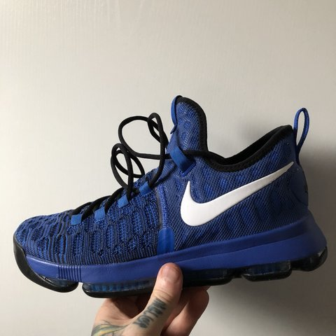 f966a5b6e76ecb Nike nba basketball Kd 9 Kevin Durant U.K. 8 Mint condition - Depop