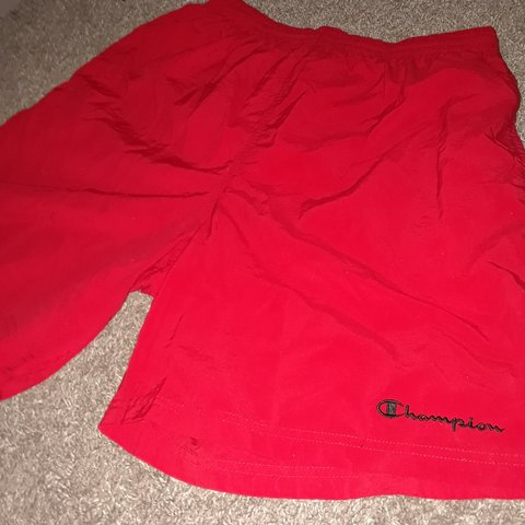 d23943e39d @alexcops74. 20 days ago. Brownsville, Cameron County, United States. Vintage  Red Champion Swim Trunks
