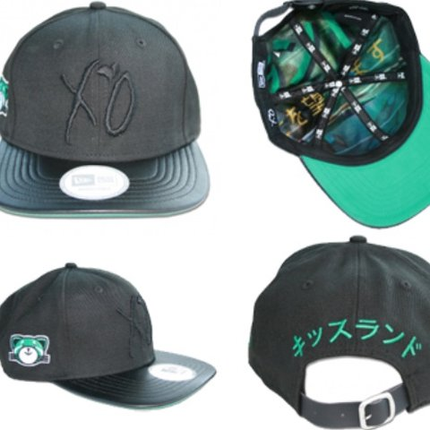 edbef892195cd The Weeknd Official XO Merch Kiss Land SnapBack from limited - Depop