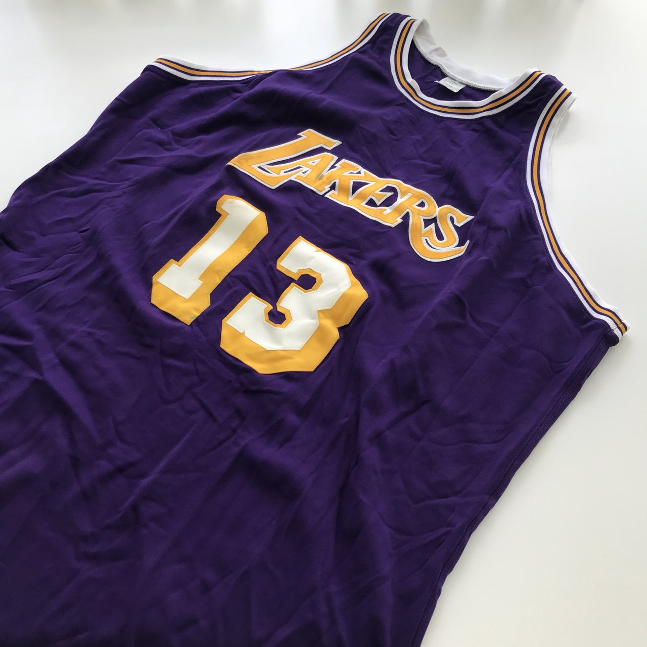Mitchell and Ness Los Angeles Lakers Wilt Chamberlain Jersey - Depop f8c4aa756