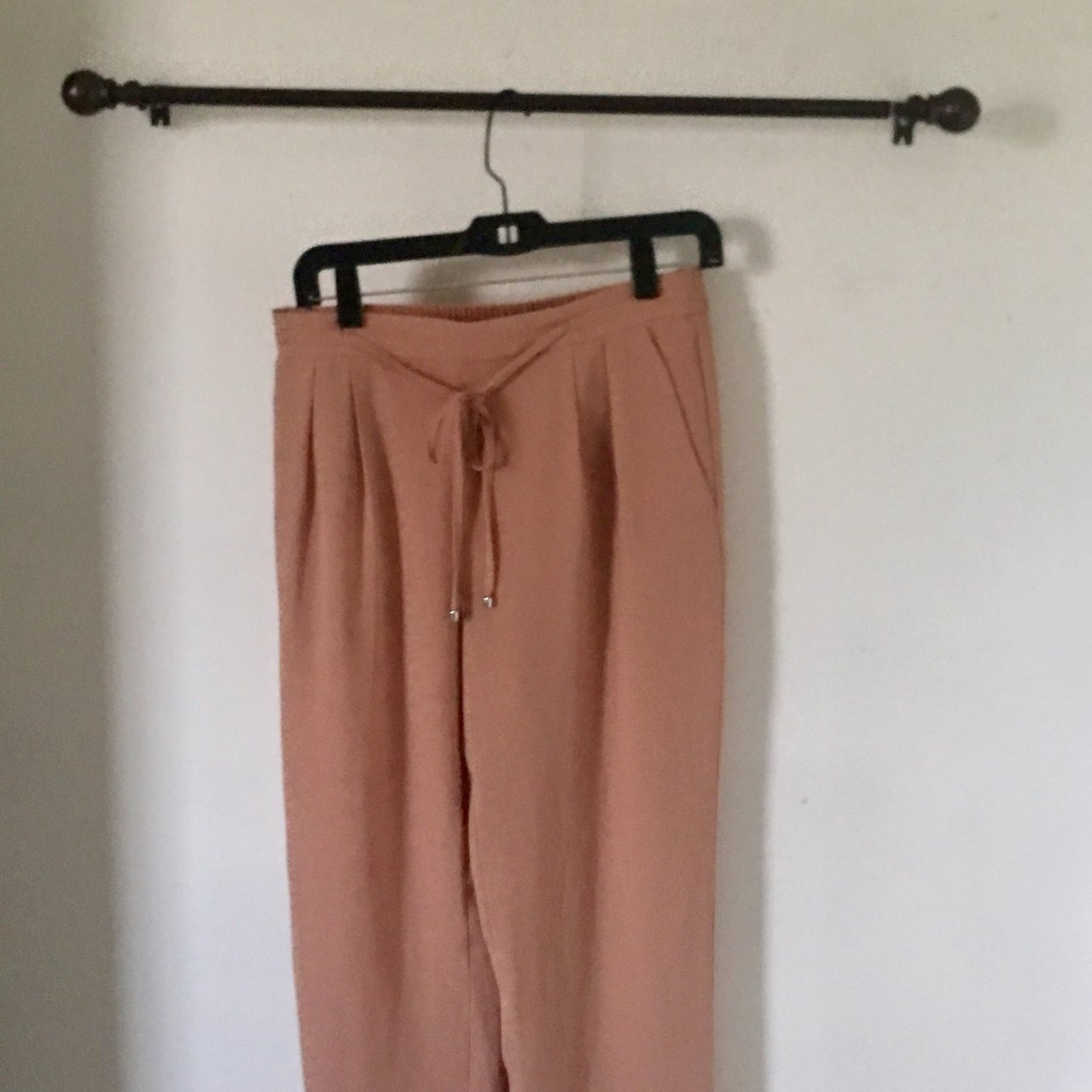 9f72d4f0 Comfy blush colored palazzo pants. Love these pants they're - Depop