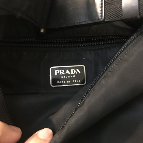 2467a03e6929 @playboy23. last year. Palisades Park, United States. Black Prada Shoulder  or Cross Bag